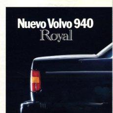 Postales: PUBLICIDAD PRENSA 1991 - VOLVO 940 (2 PGS.) / CORTE INGLES / BLANCO Y NEGRO - COCHE PRENSA -FOTO ADI. Lote 32963862