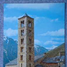 Postales: POSTAL GIGANTE - IGLESIA DE SAN CLEMENTE SIGLO XII - TAHÜLL - LLEIDA - SICILIA S/N. Lote 32970325