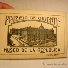 Postales: DESPLEGABLE DEL PALACIO DE ORIENTE. MUSEO DE LA REPÚBLICA.. Lote 33051628
