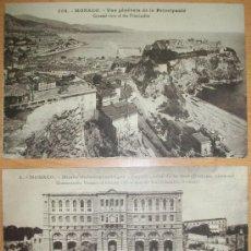 Postales: POSTALES (2 POSTALES DE MONACO). Lote 33101690