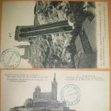 Postales: POSTALES (2 POSTALES DE MARSEILLE). Lote 33125260