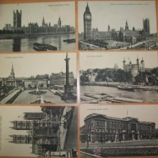 Postales: POSTALES (6 POSTALES DE LONDON). Lote 33125287