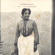 Postales: PS3178 POSTAL DE TIPO DE CATALANA - LE ROUISSILLON - LABOUCHE FR. PRINC. S. XX. SIN CIRCULAR. Lote 33979701