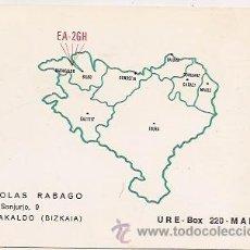 Postales: BARAKALDO: TARJETA POSTAL DE RADIOAFICIONADO. Lote 34019466