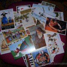Postales: REEDICIÓN DE 130 POSTALES DEL SIGLO XX.SON DE HACE 25 AÑOS O ALGO MÁS. Lote 34705985