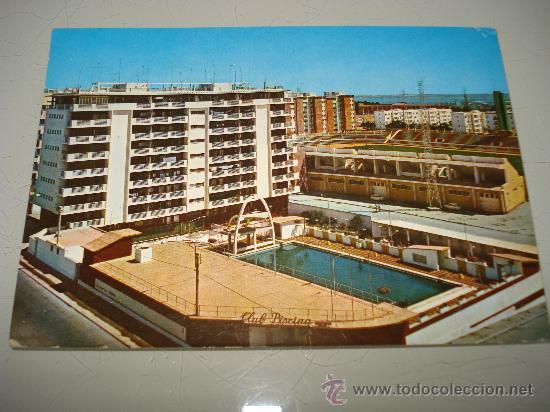 Antigua tarjeta postal de c diz piscina munici comprar for Piscina de cadiz
