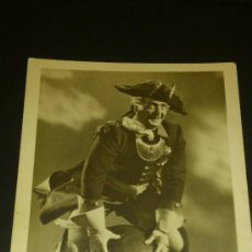 Postales: ANTIGUA TARJETA POSTAL HANS ALBERS BARON DE MUNCHAUSEN ESCRITA A AGUILAS MURCIA 1927. Lote 34971471