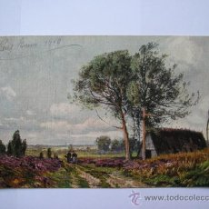 Postales: POSTAL ANTIGUA,ESCRITA,CIRCULADA,SELLO ALFONSO XIII,AÑO 1910. Lote 34996961