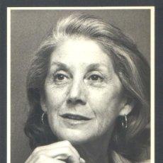 Cartoline: .1 TARJETA POSTAL DE ** NADINE GORDIMER. ** AÑO 1988 - CIRCULO LECT. GRANDES ESCRITORAS. Lote 35661726