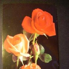 Postales: 2742 FLOR FLORES FLOWER FLOWERS ROSA ROSE POSTCARD POSTAL AÑOS 60/70 ESCRITA - TENGO MAS POSTALES. Lote 36225992