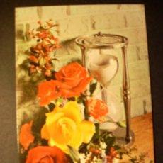 Postales: 2744 FLOR FLORES FLOWER FLOWERS ROSA ROSE POSTCARD POSTAL AÑOS 70 ESCRITA - TENGO MAS POSTALES. Lote 36226120