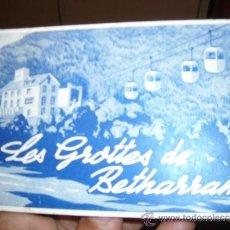 Postales: LES GROTTES DE BETHARRAM ALBUM POSTALES ANTIGUAS MUY RARAS ENVIO GRATUITO. Lote 36393431