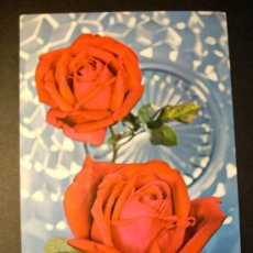 Postales: 3016 FLORES FLOWERS FLOR FLOWER ROSA ROSAS ROSE ROSES POSTCARD AÑOS 60/70 ESCRITA TENGO MAS POSTALES. Lote 36417229