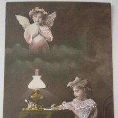 Postales: POSTAL ROMÁNTICA, AÑO 1916. Lote 36445505