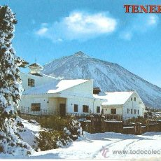 Postales: POSTAL TENERIFE NEVADA AÑOS 70. Lote 37050568