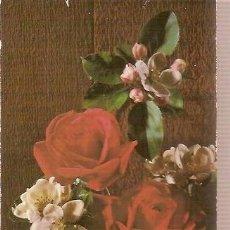 Postales: POSTAL A COLOR SERIE 1051 17 TEMA FLORES EUROCROMO SL. Lote 37185506