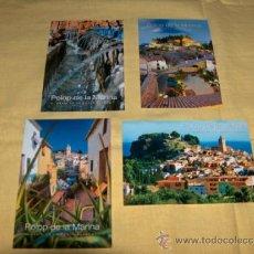 Postales: POSTALES, POLOP DE LA MARINA, ALICANTE.. Lote 37267638