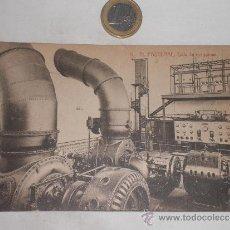 Postales: EL PASTERAL SALA DE MAQUINAS. Lote 37402941
