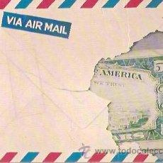 Postales: POSTAL A COLOR PIERRE DUCORDEAU L'ENVELOPPE AUX 50 DOLLARS ESCRITA 1982. Lote 37535604