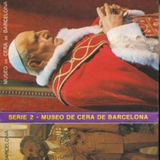 Postales: POSTAL - TIRA - ALBUM - LIBRILLO ACORDEON - 10 POSTALES MUSEO DE CERA BARCELONA - SERIE 2. Lote 37608350