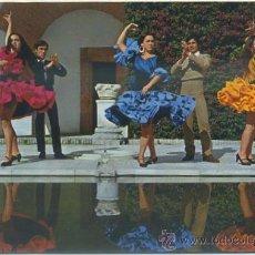 Postales: POSTAL DE FLAMENCO. ESPAÑA TIPICA. BAILE ANDALUZ Nº 1780 P-FLA-005. Lote 38352629