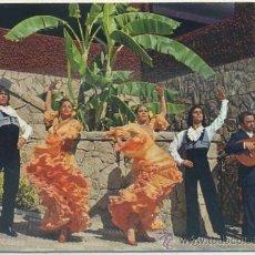 Postales: POSTAL DE FLAMENCO. ESPAÑA TIPICA. BALLET FIESTA FLAMENCA Nº 2041 P-FLA-007. Lote 38352642