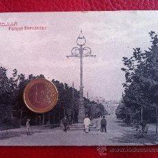Postales: POSTAL ANTIGUA - MELILLA, PARQUE HERNÁNDEZ- ORIGINAL. Lote 38900028