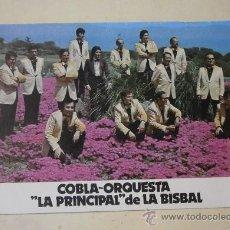 Postales: POSTAL COBLA-ORQUESTRA LA PRINCIPAL DE LA BISBAL.. Lote 38966729