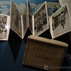 Postales: LOTE DE PEQUEÑAS POSTALES CATEDRALES DE ESPAÑA - TALLERES DE FOTOGRAFIA ZERKOWITZ BARCELONA INCOMPLE. Lote 39208590