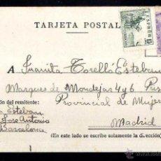 Postales: TARJETA POSTAL CIRCULADA. . Lote 39338367