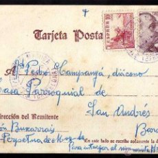 Postales: TARJETA POSTAL CIRCULADA. . Lote 39338369