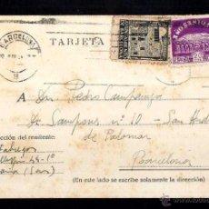 Postales: TARJETA POSTAL CIRCULADA. . Lote 39338387