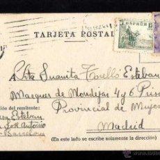 Postales: TARJETA POSTAL CIRCULADA. . Lote 39338391