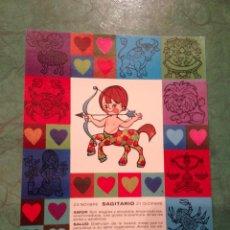 Cartes Postales: ZODÍACO SAGITARIO - Z9 - PAGSA, COLECCIÓN PERLA - DISEÑO POP/ART - EN . Lote 39351637