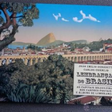 Postales: LEMBRANÇAS DO BRASIL. LIBRO CATALOGO ILUSTRADO CON POSTALES ANTIGUAS. Lote 39671290