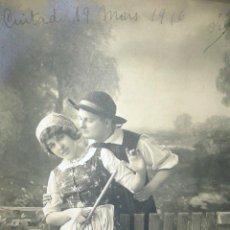 Postales: PRECIOSA POSTAL ANTIGUA DEL AÑO 1916. Lote 39690281