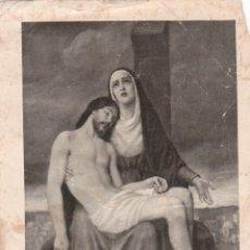 Postales: ESTAMPA / ESTAMPITA NUESTRA SEÑORA DE LA BUENA MUERTE - JULIO 1908. Lote 39764736