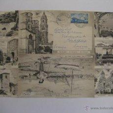 Postales: PRECIOSA POSTAL DESPLEGABLE DE MÁLAGA AÑO 1959.. Lote 35444106