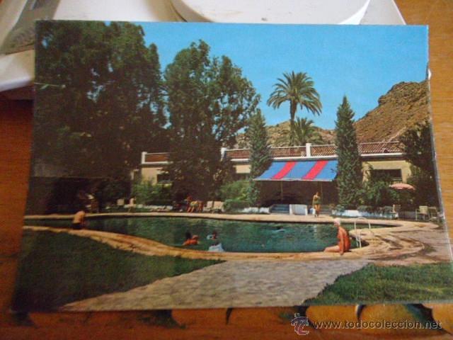 Antigua rara postal p 387 balneario de archena comprar for Piscina archena