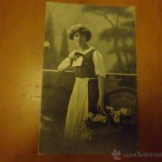 Postales: ANTIGUA POSTAL ORIGINAL EPOCA 1916 ROMANTICA. Lote 39993997