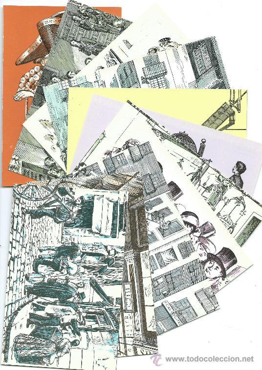 Postales: 12 postales loteria nacional, 1970 - Foto 2 - 40317927