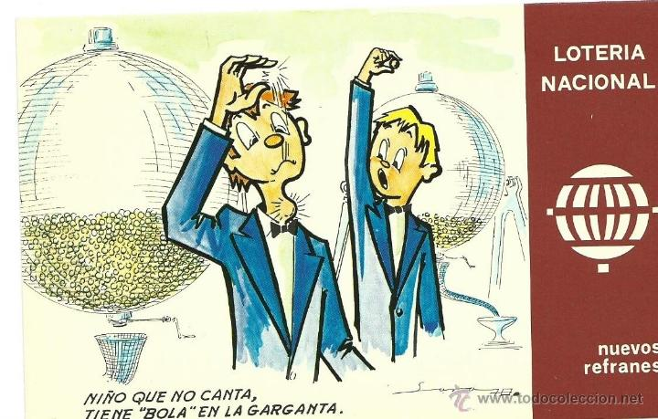 12 POSTALES LOTERIA NACIONAL, 1975. (Postales - Varios)