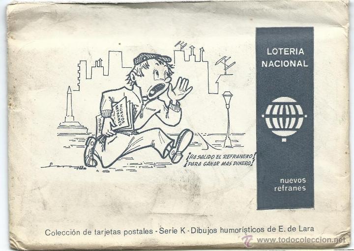Postales: 12 postales loteria nacional, 1975. - Foto 2 - 40334309