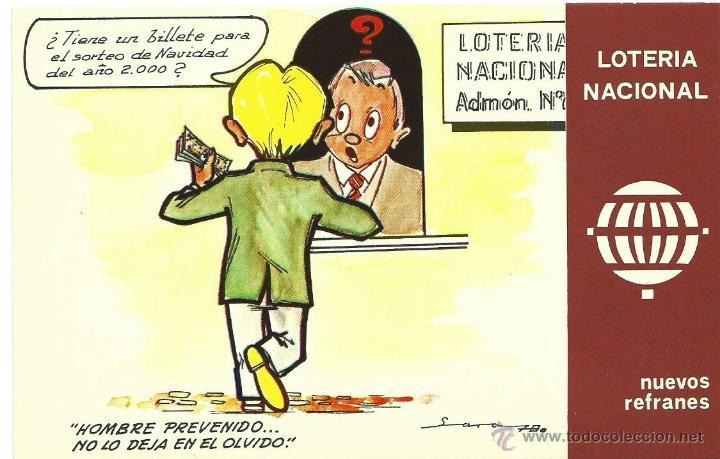 Postales: 12 postales loteria nacional, 1975. - Foto 3 - 40334309