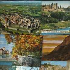 Postales: BONITA COLECCION DE 11 POSTALES DE CASTILLOS,MONASTERIOS CATEDRALES. Lote 40357767