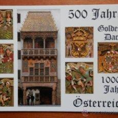 Postales: GOLDENES DACHL. INNSBRUCK - DIVERSOS AUTORES. Lote 37528470