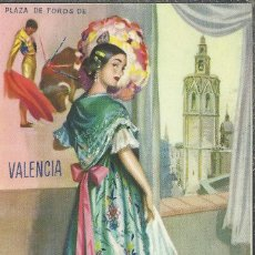 Postales: VALENCIA TRAJE TIPICO TOROS SIN ESCRIBIR. Lote 40655184