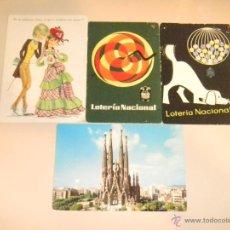 Postales: IÑI POSTALES LOTERIA NAVIDAD, C. Y Z. 7124.BARCELONA Nº 2123.SAGRADA FAMILIA.POST CARDS. DELTA. Lote 40699665