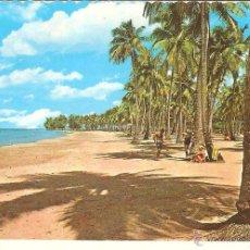 Postales: POSTAL CARIBE AÑOS 60 LUQUILLO BEACH ESCRITA. Lote 40713515