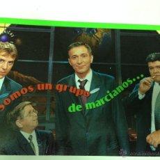 Cartes Postales: TARJETA DE FELICITACION DEL PROGRAMA DE TELEVISION CRONICAS MARCIANAS. Lote 40755582